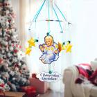 """Рождественская подвеска """"Ангелок со звездами"""", 31,7 х 37,7 см"""