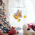 """Рождественская подвеска """"Ангелочек с красками"""", 31,7 х 37,7 см"""