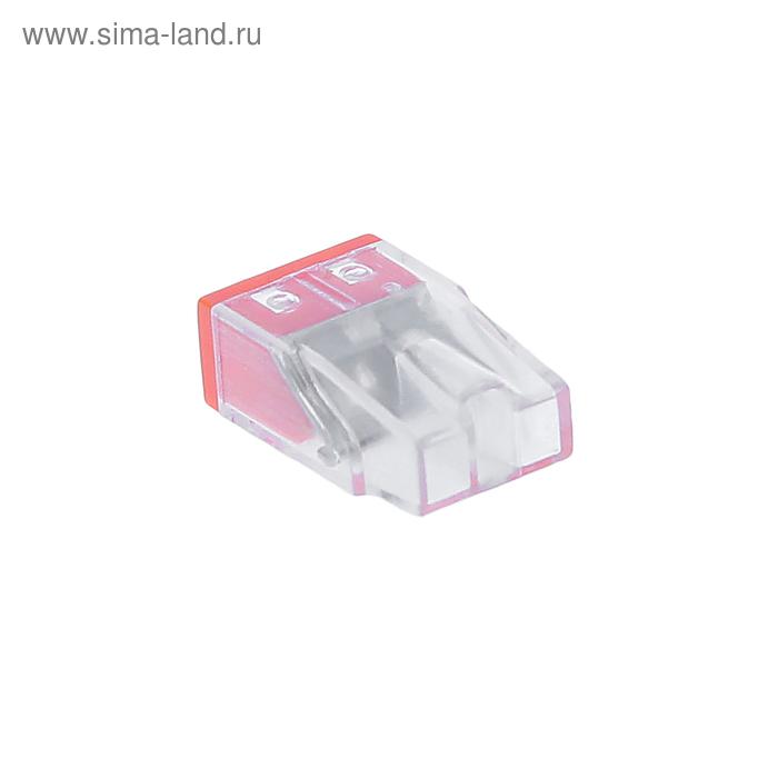 Клемма строительно-монтажная Smartbuy 2 отверстия, SBE-pwco-2