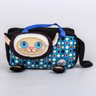 """Мягкая игрушка-сумка """"Путешественница Кошка"""" цвет МИКС 29 см 27.205.3"""