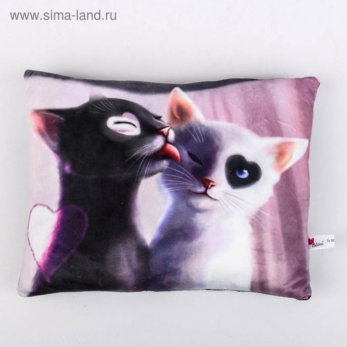 """Мягкая игрушка-подушка """"Мартовские коты"""", 33 см"""