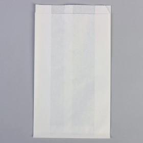 Пакет бумажный фасовочный, белый, V-образное дно 17 х 7 х 30 см Ош