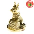 """Новогодний подарок фигурка миниатюрка собака """"Богатства"""""""