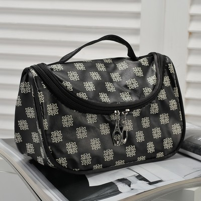 Косметичка-сумочка Клариса, 20*10*12, отд на молнии, чёрный