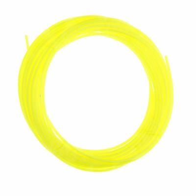 Пластик PCL для 3D ручки, длина 5 м, d=1,75 мм, цвет кислотно-жёлтый