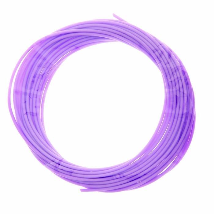 Пластик PCL для 3D ручки, длина 5 м, d=1,75 мм, цвет сиреневый