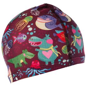 Шапочка для плавания, детская 'Морские животные' OL-011, текстиль Ош