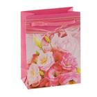 """Пакет подарочный """"Нежный розовый"""" 9,2 х 4,8 х 12,2 см"""