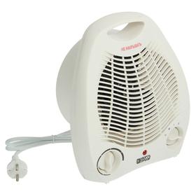 Тепловентилятор 'Энергопром' ТВС-1 (FH 03), 2000 Вт, вентиляция без нагрева, белый Ош