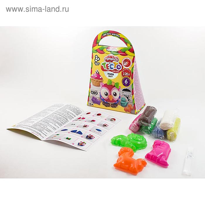 Набор креативного творчества «Тесто для лепки» серия «MASTER DO» коробка Комильфо TMD-04-02   281162 Danko Toys