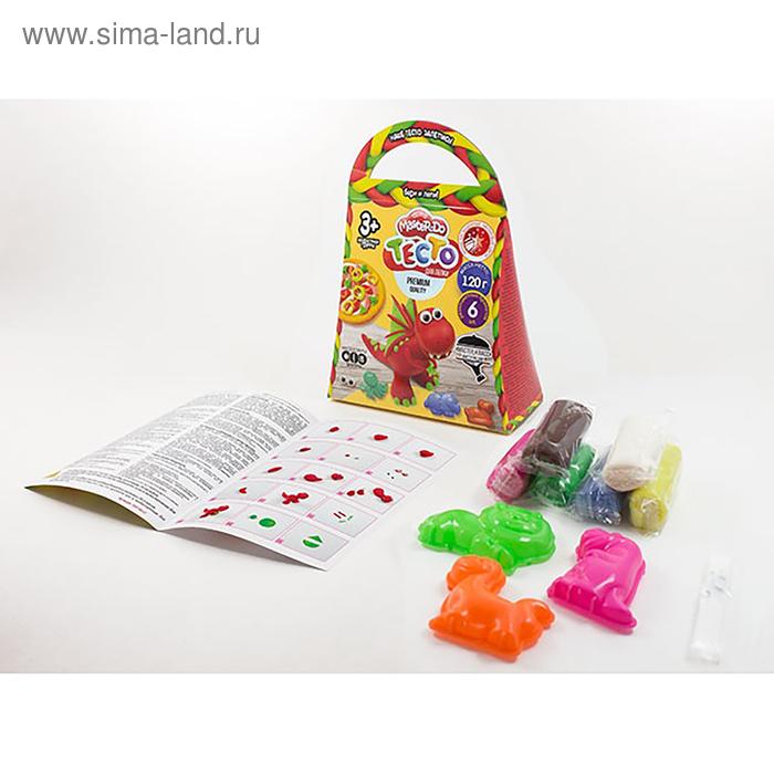 Набор креативного творчества «Тесто для лепки» серия «MASTER DO» коробка Комильфо TMD-04-06 Danko Toys