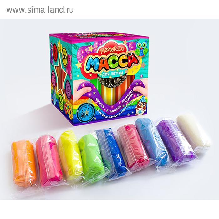 Набор креативного творчества «Тесто для лепки» серия «MASTER DO» коробка квадрат MMD-01-05 Danko Toys