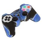 Силиконовый чехол для PS3 Oxion OSC01BLM, синий камуфляжный (OSC01BLM)