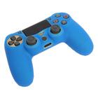 Силиконовый чехол для PS4 Oxion OSC02BL, синий (OSC02BL)