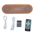 MP3 плеер Enzatec MP505OG SD/USB, пульт ДУ, стерео, оранжевый