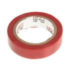 Изолента LOM, ПВХ, 15 мм х 7 м, 130 мкм, красная