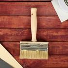 Кисть-макловица, деревянная ручка, 30 х 110 мм