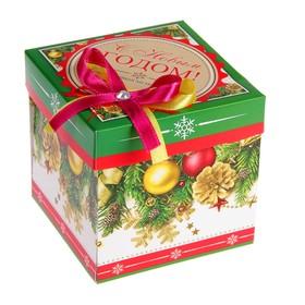 Коробка подарочная 'С Новым Годом!' Шары Ош