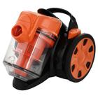 Пылесос Home Element HE-VC1802, 2100/300 Вт, 2 л,черный/оранжевый