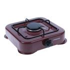 Плитка газовая JARKOFF JK-7301Br, 1 конфорка, 3,8 кВт   коричневая