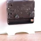 Будильник квадрат,с полосами на лицевой стороне, микс, циферблат классика 4*10*13.5см