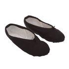 Балетная обувь ручной работы, размер 28, цвет чёрный
