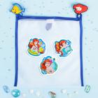 """Сетка для хранения игрушек """"Русалочка"""" Принцессы: Ариель +набор объемных наклеек"""