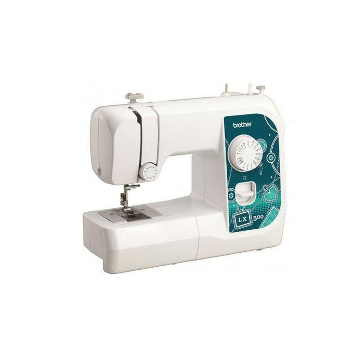Швейная машина Brother LX500, 14 операций, горизонтальный челнок, белая