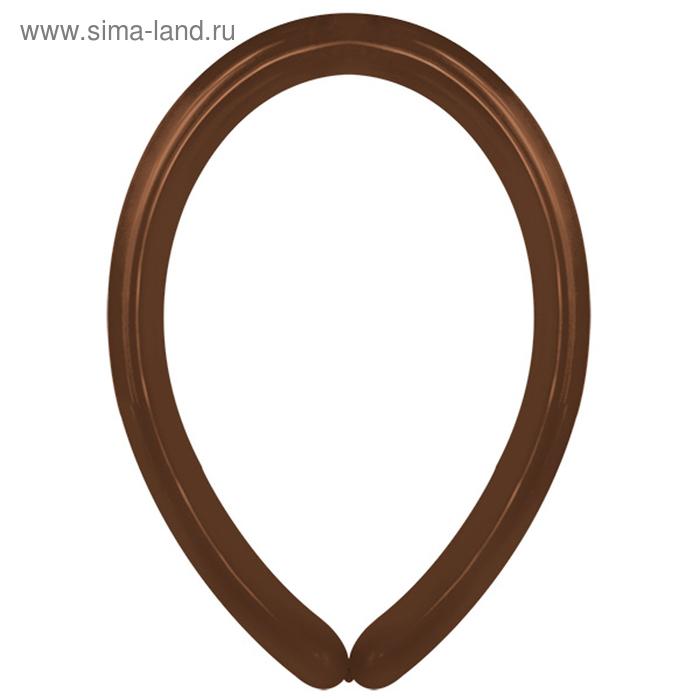 Latex Occidental Шар для моделирования 270, декоратор, коричневый набор 100 шт 2839279
