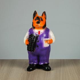 """Копилка """"Собака в одежде"""", 20 см, микс"""