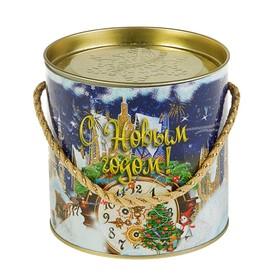 Подарочная коробка, тубус 'Часы малая', 12 х 12 см Ош