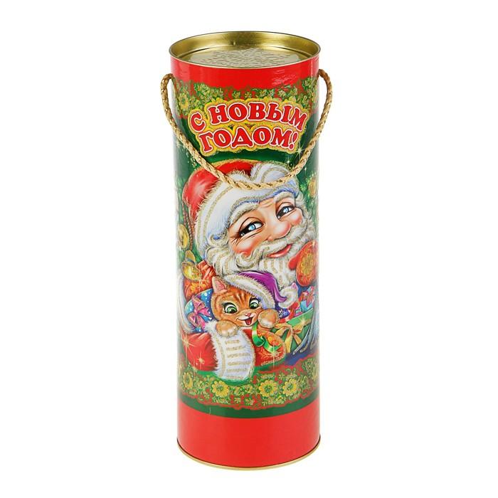 "Подарочная коробка, тубус ""Игрушки"", 12 х 34,5 см"