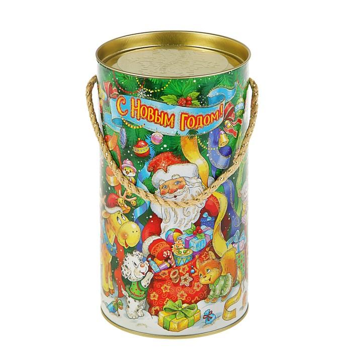 """Подарочная коробка, тубус """"Серпантин"""", 12 х 22 см"""