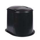 Туалет дачный, h=39 см, без дна, с креплением к полу, «Эконом»