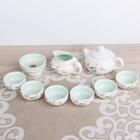 "Набор для чайной церемонии 9 предметов ""Рыбки"" чайник 180 мл, чашка 70 мл, чахай"