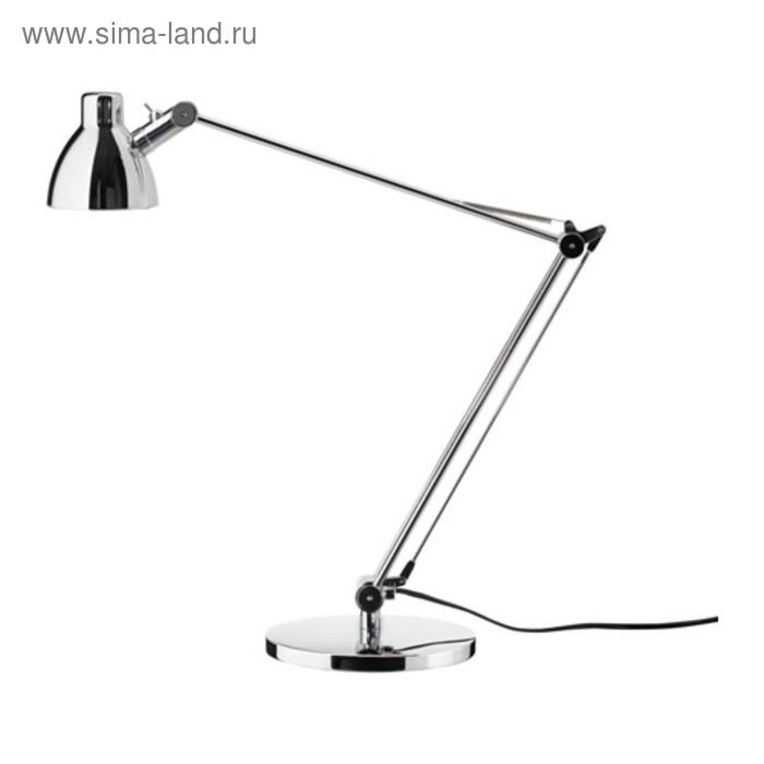 Настольная лампа ANTIFONI 1x40Вт GU10 никель 9x44см