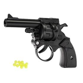 """Револьвер механический """"Браво"""", стреляет пульками"""