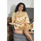 """Халат женский """"Passion"""", размер 42-46 (XL), цвет золото"""