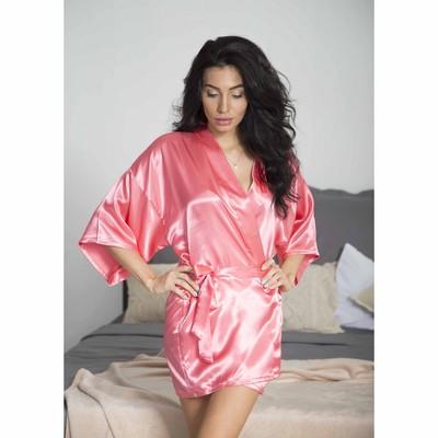 """Халат женский """"Passion"""", размер 42-46 (XL), цвет розовый"""