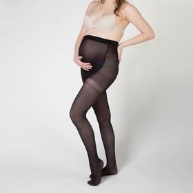 Колготки для беременных (высокие) Collorista, 30 DEN, р-р S-XXL, цв. чёрный