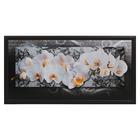 """Картина """"Орхидеи в кружевах"""" 55х105 см"""