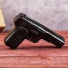 """Мыло ручной работы """"Пистолет"""" кофейное"""