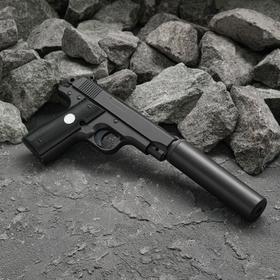 Пистолет пневматический пружинный Browning G.2, с глушителем