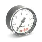 """Манометр UNI-FITT 300P2030, аксиальный, 6 бар, диаметр 63 мм, 1/4"""""""