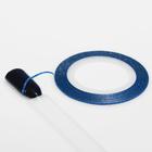 """Лента для ногтей """"Блёстки"""", 10м, цвет синий"""