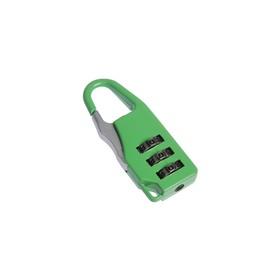 Замок навесной кодовый, Type 1 зеленый Ош