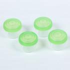 Контейнеры для детского питания, 140 мл, набор 4 шт., цвет зелёный