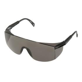 Очки защитные TOPEX, черные, регулируемые дужки