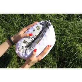 Подушка многофункциональная для кормления и укачивания  'Лисичка', белый плюш Ош
