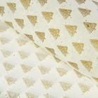 Бумага тишью «Золотые елки» 50 х 76 см